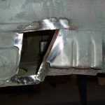 Rear axle limit straps mounts