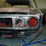 Headlight support panels